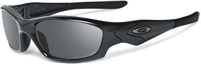 Oakley Polarized Straight Jacket Sunglasses 12935PBLK