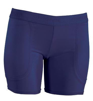 Low-Rise Shorts | Slider Shorts - Stromgren Women's Low Rise Layered Sliding Shorts - Female Softball Sliding Shorts