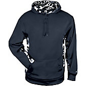 Badger Men's Camo Colorblock Hoodie
