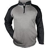 Badger Men's Sport Heather 1/4 Zip Pullover
