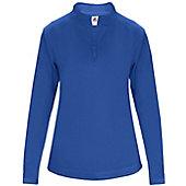 Badger Women's Poly Fleece 1/4 Zip Pullover