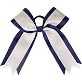 Powerbows Large Two-Toned Plain Color Cheer Bow