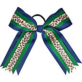 Powerbows Large 3-color Leopard Print Cheer Bow