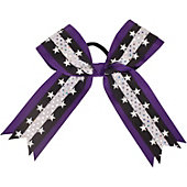 Powerbows Large 3-color Star Pattern Cheer Bow