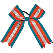 Powerbows Large 3-color Zebra Print Cheer Bow