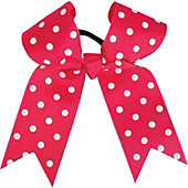 Powerbows Large Basic Polka Dot Pattern Cheer Bow