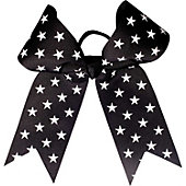 Powerbows Large Basic Stars Pattern Cheer Bow