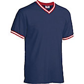 Teamwork Athletics Adult Team Colors V-Neck Baseball Jersey
