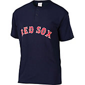Majestic MLB Replica Adult Two Button Henley