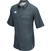 Adidas Men's Climalite Modern Varsity Full Button Polo