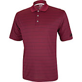 Adidas Men's Climalite 2 Color Striped Polo