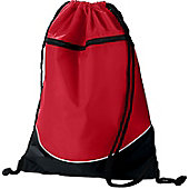 AUG TRI-COLOR DRAWSTRING BACKPACK