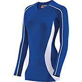 Teamwork Women's Cobra Long Sleeve Volleyball Jersey