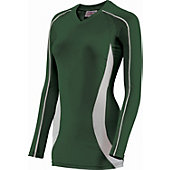 Teamwork Girl's Cobra Long Sleeve Volleyball Jersey