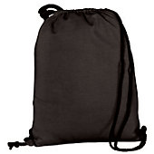 Augusta Athletic Black Fleece Bag w/ Drawcord