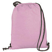 Augusta Athletic Lt. Pink Fleece Bag w/ Drawcord