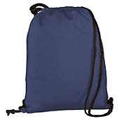 Augusta Athletic Navy Fleece Bag w/ Drawcord