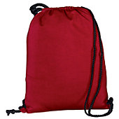 Augusta Athletic Red Fleece Bag w/ Drawcord