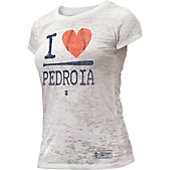 108 Stitches Women's I Heart Pedroia Shirt