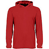 Badger Youth B-Core Long Sleeve Hooded Shirt