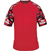 Badger Youth Camo Sport T-Shirt