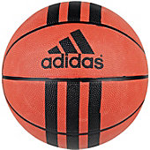 "Adidas Youth 3-Stripes Rubber Basketball (27.5"")"