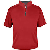 Badger Youth B-Core Short Sleeve 1/4 Zip Pullover