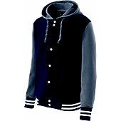 Holloway Adult Accomplish Varsity Fleece Jacket