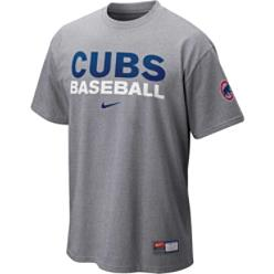 Nike Men's MLB Cubs Baseball Practice T-Shirt