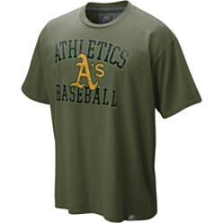 Nike Men's MLB Oakland Athletics Southpaw T-Shirt