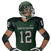 Nike Adult Custom Modified Oregon Football Jersey