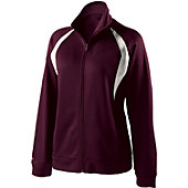 Holloway Women Royal/White Agility Jacket
