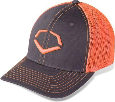 EvoShield Trucker Flex-Fit Neon Orange Hat 243008NORM