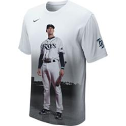 Nike Men's MLB Evan Longoria Cleanup Player T-Shirt