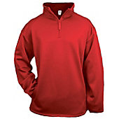 Badger Youth 1/4 Zip Poly Fleece Pullover