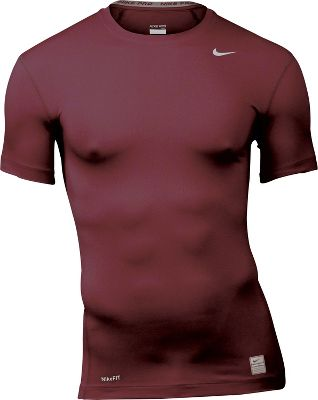 Nike Core Mens Short Sleeve Crew Tight Fit Shirt