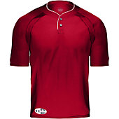 Under Armour Youth 2 Button Landsdowne Jersey