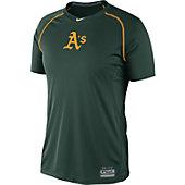 Nike MLB Pro Combat Raglan Short Sleeve Shirt