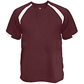 Badger Youth Competitor Placket Baseball Jersey