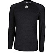 Adidas Men's Climalite Heathered Long Sleeve Performance Shi