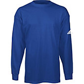 ADIDAS MENS LS LOGO ON SLV TEE