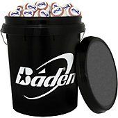 Baden Bucket with 2BBG Baseballs (30 Balls)