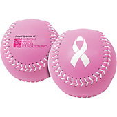 "Baden Pink 12"" Leather Softball (Dozen)"