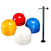 Dome Shaped Cones with Stand - Set of 6