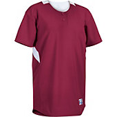 Russell Athletic Womens Performance Two Button Placket Jerse