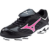 Mizuno Women's Finch G3 Blk/Pnk Low Molded Cleats