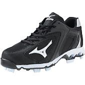 Mizuno Blaze Elite G2 Black/White Low Molded Cleats