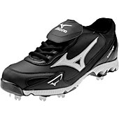 Mizuno Men's Vintage G6 Low Metal Baseball Cleats