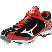 Mizuno Men's Vapor 5 Low Metal Baseball Cleats