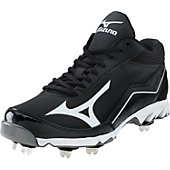 Mizuno Men's Swagger Mid Metal Baseball Cleats